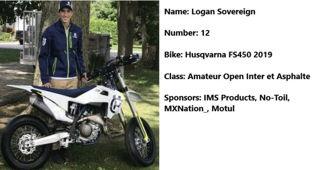 12 moto Logan Sovereign