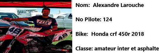 124 moto alex larouche